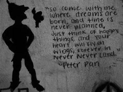 Beautiful Peter Pan Sayings