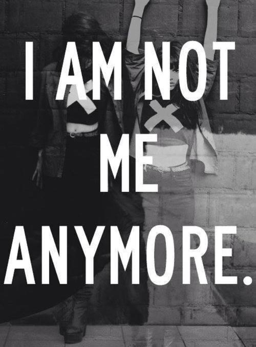 I AM Not About Me Anymore Quotes