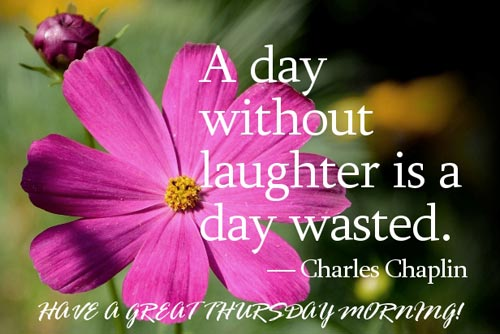 Goodmorning Quotes A Day Without Laughter Is A