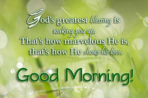 goodmorning-quotes-gods-greatest-blessing