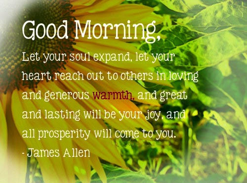 Awesome Love Inspirational Good Morning Quotes Let Your Soul