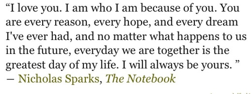 Notebook Movie Quotes