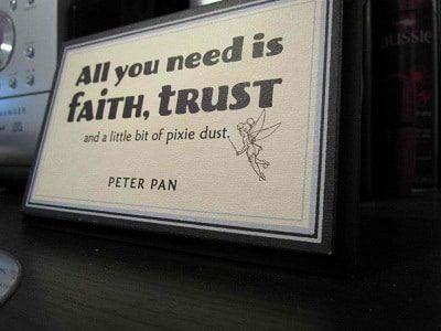Peter Pan Sayings