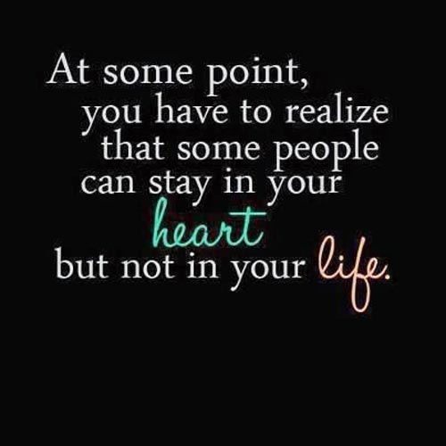 Some Sad Quotes About Love : At some point, you have to realize that some people can stay in ...