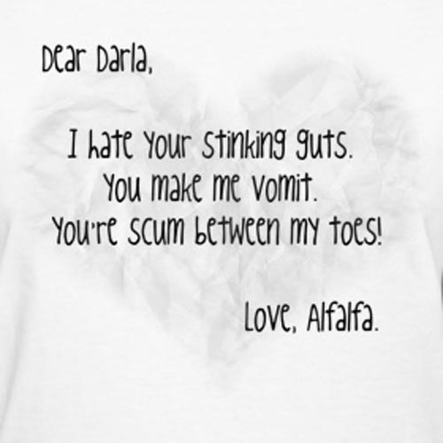 dear darla letter 25 best rascals quotes of all time 462