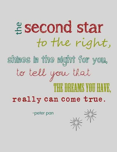 Cute Peter Pan Sayings