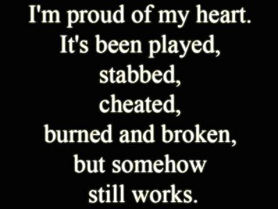 Heart Broken Sayings
