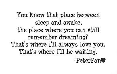 Lovely Peter Pan Quotes