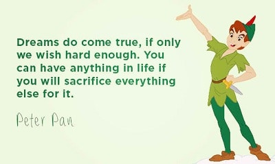 18 Beautiful And Inspirational Peter Pan Quotes With Images