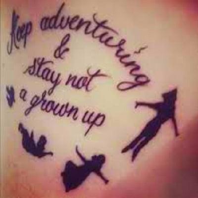 Motivating Peter Pan Sayings