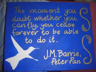 Peter Pan Quots
