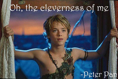 Romantic Peter Pan Sayings