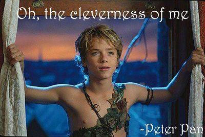 Romantic Peter Pan Sayings