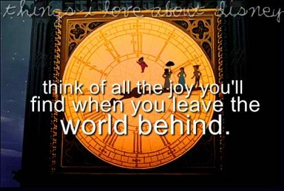 Sweet Peter Pan Sayings