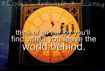Sweet Peter Pan Sayings