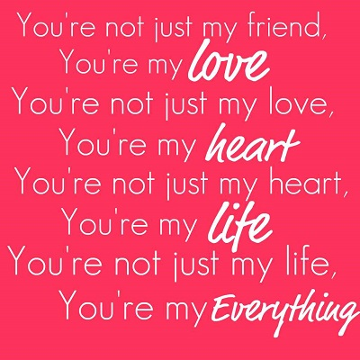 Romantic Love Quote for Valentines Day