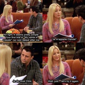tv show friends quotes