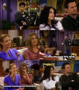 friends tv show sayings