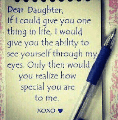 I Love My Daughter Funny Quotes : realization-quote-mother-daughter-quotes