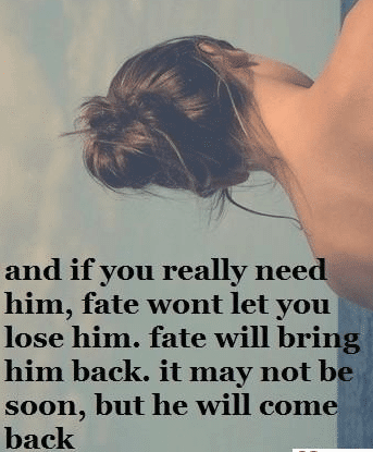 Awesome Fate Love Quotes For Him