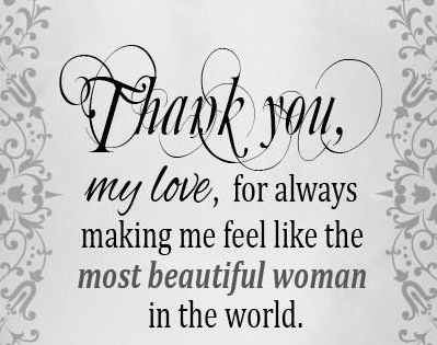 Thank U Love Quotes For Him