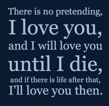 Until I Die Unique Love Quotes