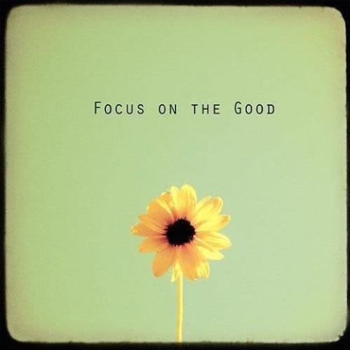 Focus on the Good Morning Quotes