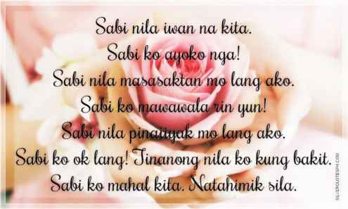 pinoy text messages tagalog love quotes