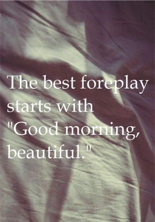 Sexy Love Good Morning Quotes