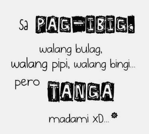 Tagalog Funny Love Quotes