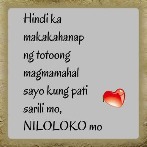 tagalog love quotes text messages sad