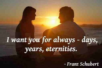 52 Romantic Quotes for Her and for Him