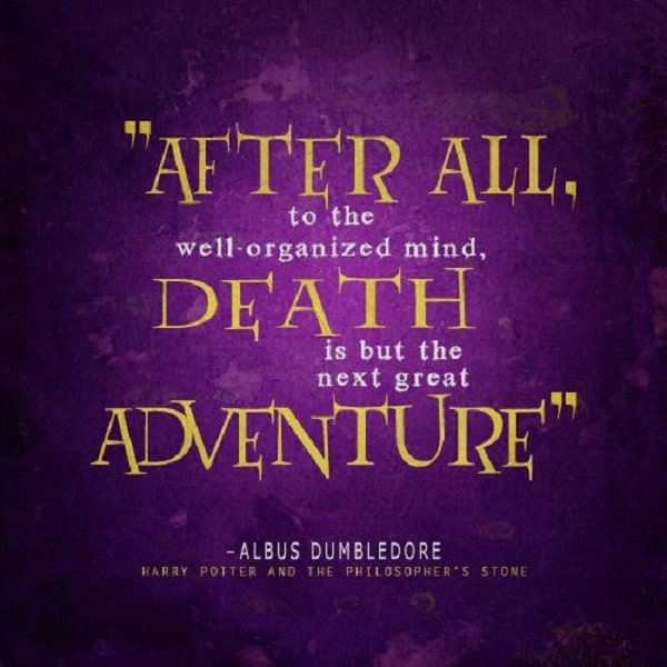 After All, To The Well Organized Mind, Death Is But The Next Great  Adventure. Sad Quotes And Sayings About Life And Love