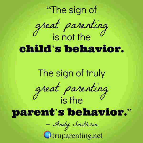 Quotes about teaching kids the right behavior.