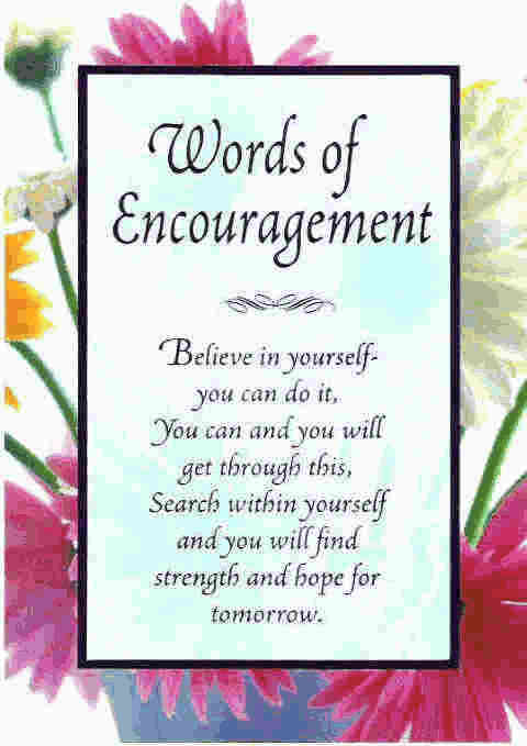 encouragement quotes about believing in self