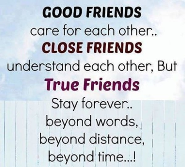 Nice Quotes About Good Friends : Best quotes about friendship with images