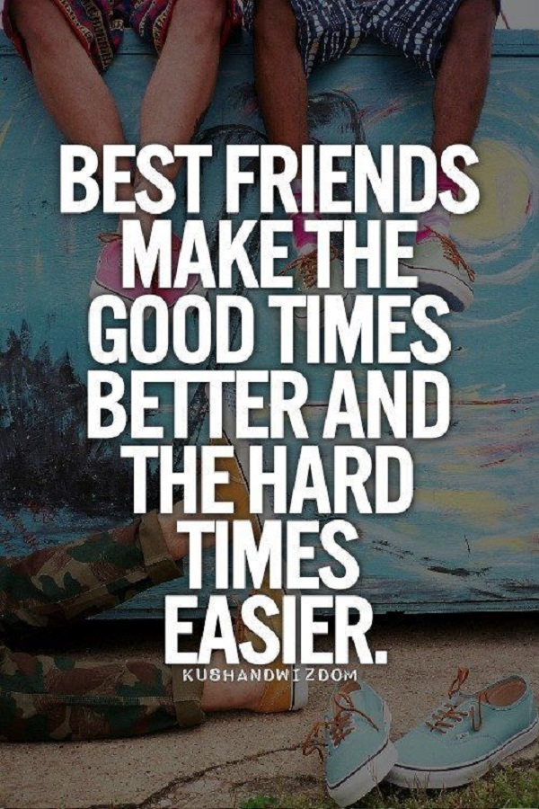 Quotes About Good Friends In Hard Times : Best quotes about friendship with images