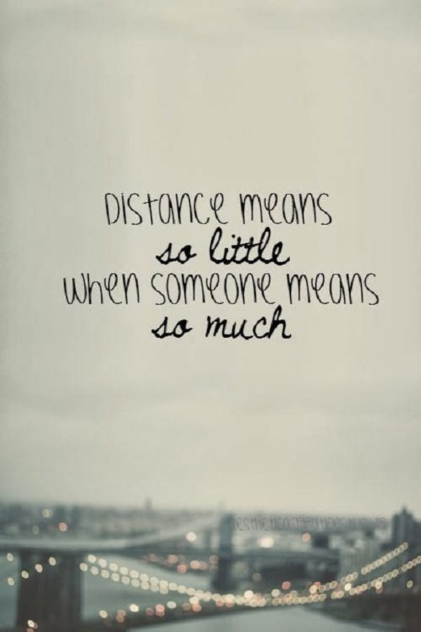 distance friend quotes