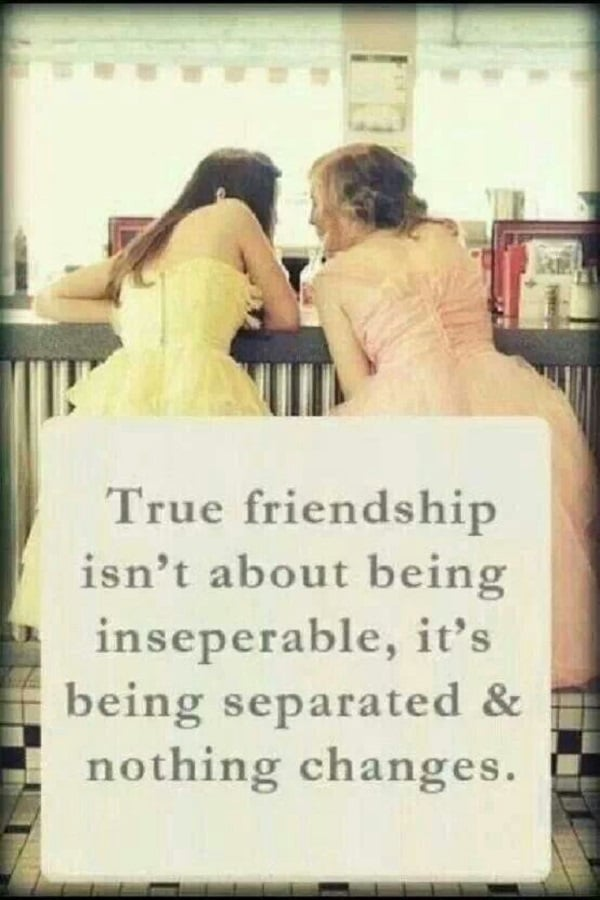 Quotes About Friendship Distance Captivating 52 Best Quotes About Friendship With Images