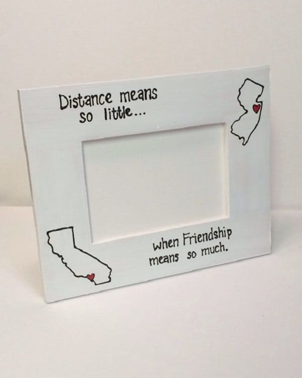 Distance Means So Little When Friendship Means So Much. Distance Friend  Quotes