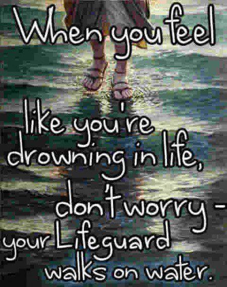 Jesus lifesaver encouragement quotes