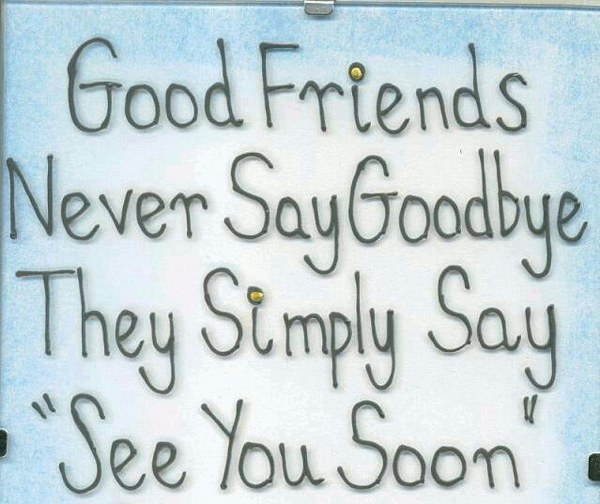 Best farewell quotes for friends