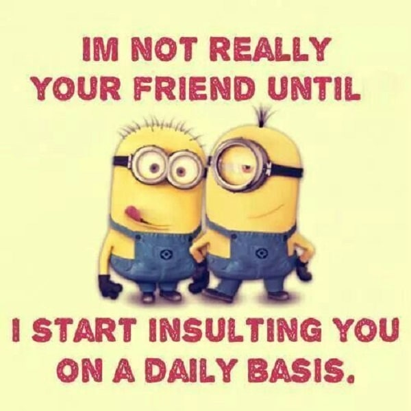 I Will Love You Until Funny Quotes : funny quotes on friendship