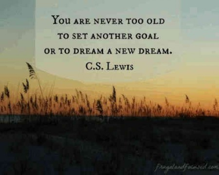 about setting goals and fulfilling dreams encouragement quotes
