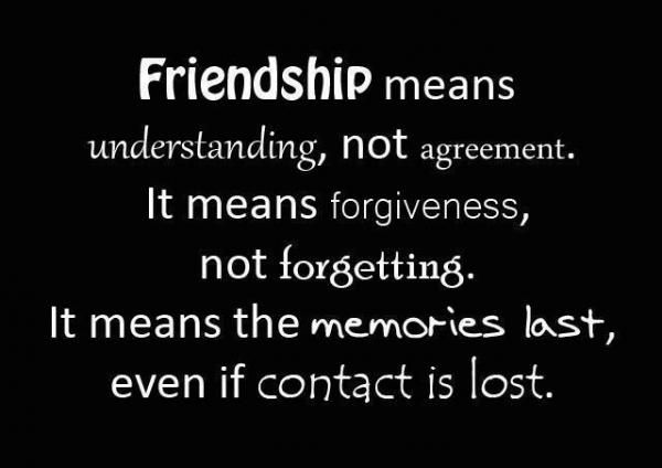 definition of friendship quotes