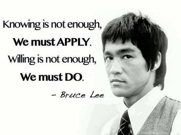 short quotes bruce lee
