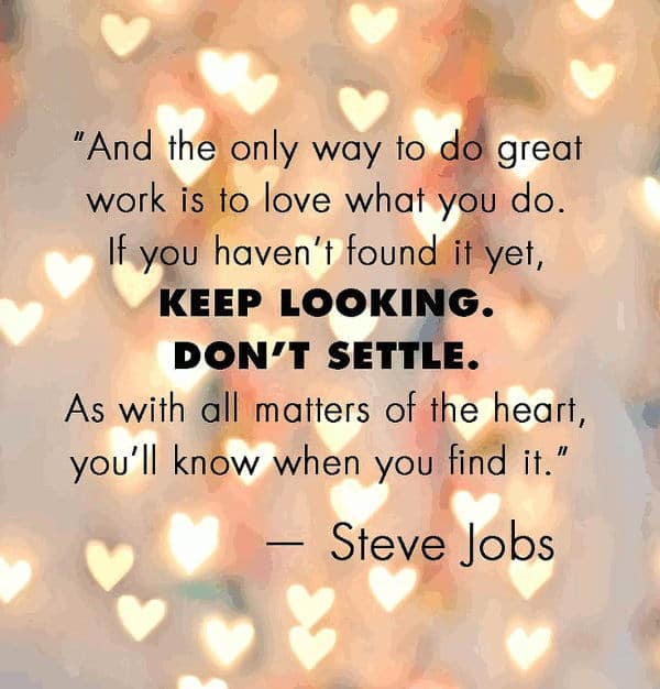 short quotes steve jobs