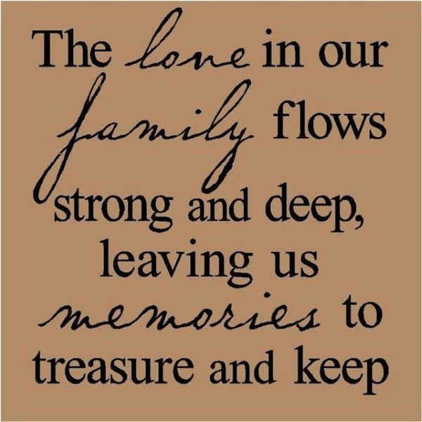 Quotes About Family Love Classy 54 Short And Inspirational Family Quotes With Images