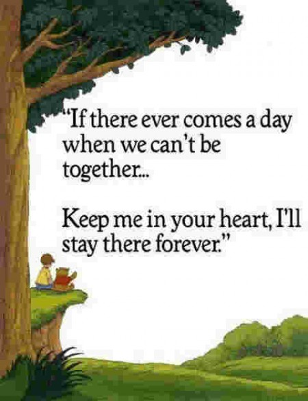 encouragement quotes Winnie the Pooh themed