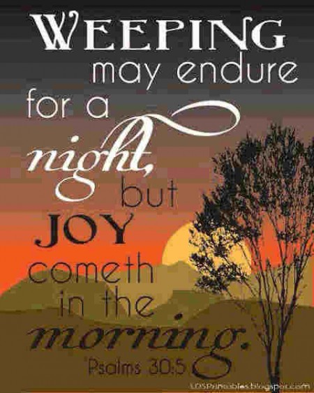 all about joy of tomorrows words of encouragement